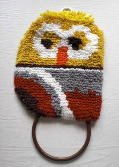 Owl Towel Holder