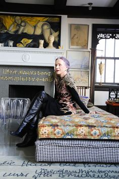 'I was born an artist, whatever I do.' So says the artist (writer, designer, film and theatre producer & actress) (more...)