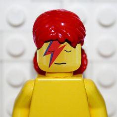 David Bowie - Aladdin Sane LEGO