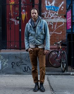 Ben Ferrari's Street Style: 12.07.12  New York's most stylish guys as they prepare for the cold.  Source: GQ magazine