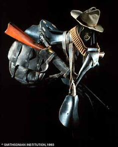 Standard Issue of Cavalry soldier's riding gear during the Indian Wars
