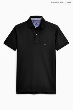 995d38fc957029 Buy Tommy Hilfiger Black Performance Polo Top from the Next UK online shop