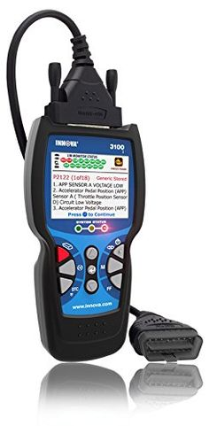 Innova 3100j Diagnostic Code Reader / Scan Tool with ABS and SRS for OBD2 Vehicles. For product info go to:  https://www.caraccessoriesonlinemarket.com/innova-3100j-diagnostic-code-reader-scan-tool-with-abs-and-srs-for-obd2-vehicles/