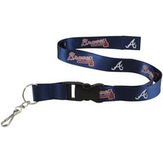 Atlanta Braves Breakaway Lanyard - Navy Blue $7.95