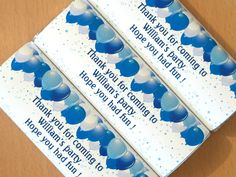 Personalised Chocolate Wrappers - Favours, Party Bags etc....starting at just £1.95 for 12......click on the link for further information....:-)