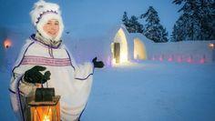 Entrez dans le SnowVillage et découvrez comment passer une nuit dans un lieu insolite en #Laponie.  Come and spend a night in a no ordinary place in #Lapland.  bit.ly/15q9dby   #onlyinlapland #explorelapland #hotel Fair Grounds, Places, Ice Hotel, Night, Lugares