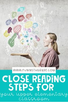 In this post, close reading is explained and discussed. You will find tips to help you get started using the strategy in your classroom. Each step is explained and rationalized so you will know, not only how to do it, but also why behind it. Find out how I make it more engaging for students while still practicing many important ELA topics. via @funin5thgrade