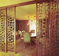 Amazing vintage room dividers!