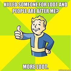 Fallout humor