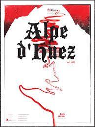 Famous Climbs: Alpe d'Huez Old World Art Print by dushan Alpe D Huez, Old World, Vintage Posters, Climbing, Cycling, Tours, Art Prints, Poster Ideas, Art Nouveau