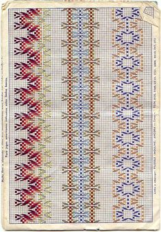 Discover thousands of images about Vagonite - Rosilda Maria - Picasa Web Albümleri Swedish Embroidery, Towel Embroidery, Ribbon Embroidery, Cross Stitch Embroidery, Embroidery Patterns, Cross Stitch Borders, Cross Stitching, Cross Stitch Patterns, Loom Patterns