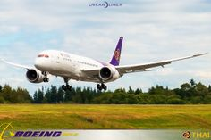 Latest airline to get the #787 #dreamliner #thaiairways Delivery is expected in the next two weeks #aviation #boeing