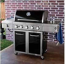 Brinkmann Select Dual Sear 5 Burner Gas Grill Model 810