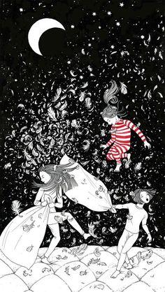 Bellas y poéticas ilustraciones de Sveta Dorosheva que rinden homenaje a su infancia 5