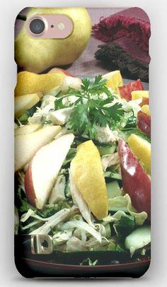iPhone 7 Case Fruits, Vegetables, Slicing, Salad