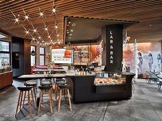 Ippolito Fleitz Group Enlivens Leipzig Pizzeria With Cheeky Touches