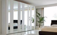 closets modernos con puertas corredizas y espejo - Buscar con Google