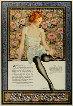 The most beautiful advertisement I have yet seen. From 1924.