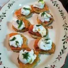 Smoked Salmon Dill Eggs Benedict.   This actually tastes amazing. It's easier than a regular eggs benedict and tastes just as good.