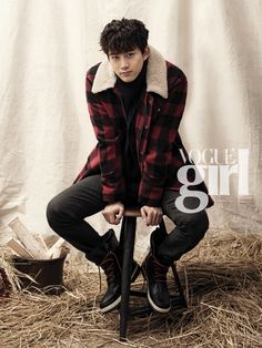 Taecyeon in Vogue Girl Korea's December 2013 Edition