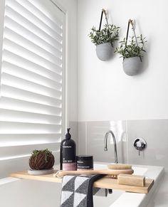 Kmart bathroom, bathroom staging, bathroom inspo, laundry in bathroom, laun Bathroom Staging, Kmart Bathroom, Bathroom Organisation, Laundry In Bathroom, Home Staging, Bathroom Plants, Bathroom Bath, Washroom, Laundry Rooms