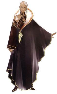 Zenoa - Suikoden Tierkreis #cleric ★ || CHARACTER DESIGN REFERENCES…