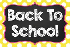 Back to School Resources, Activities, and Fun!