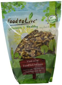 Food To Live ® Organic Walnuts (Raw, No Shell) (1 Pound) * Check out this great product.