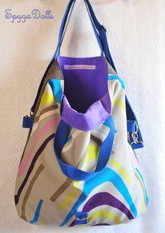 Bolso Tote Noa colección Wave.....Disponible en nuestra tienda on line.... http://spygadolls.bigcartel.com/