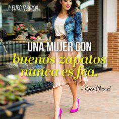 La belleza de una mujer se resalta con unos buenos zapatos :)