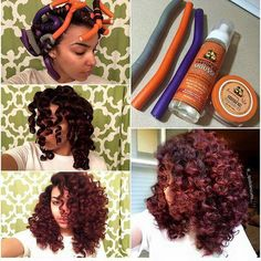 flexi rod 6 Cute designs on curly hair ponytail styles with weave with braid Natural Hair Inspiration, Natural Hair Tips, Natural Hair Styles, Roller Set Natural Hair, Curly Hair Cuts, Curly Hair Styles, Ponytail Styles, Hair Ponytail, Braided Hairstyles