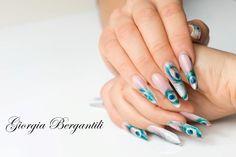 Nail Art by Giorgia Bergantili - www.ricostruzioneunghieingel.it