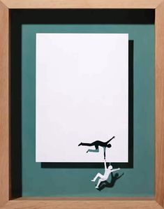 Danish artist Peter Callesen papercut