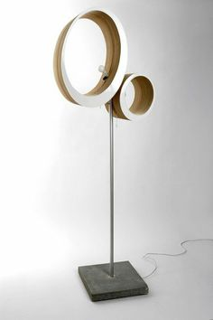 The ellipse lamp is a self-assigned project exploring shape and technological features. By Mihnea Ghilduş