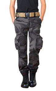 Brinny Adultes Combat Pantalons Treillis Militaire Cargo Armee Pantalon de Travail Multi Poches Coton Hasard en Dispose Comme Cadeau (Sans…