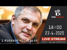 Pod paľbou s Romanom Michelkom - 23.6.2020 - YouTube Youtube, Youtubers, Youtube Movies