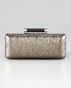 Tonda Crinkled Clutch by Diane Von Furstenberg at Neiman Marcus.