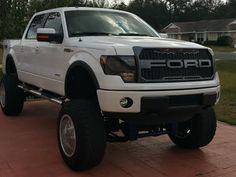 roadhound's 2014 Ford SuperCrew with Toyo Open Country R/T tires on wheels. F150 Truck, Ford Trucks, Ford F150 Custom, 2014 Ford F150, Truck Accessories, Jeeps, Truck Parts, Cars Motorcycles, Nissan