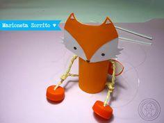 Marioneta Zorrito <3