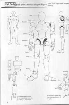 Como Desenhar Mangá - Robôs Robot Concept Art, Robot Art, Manga Drawing Tutorials, Art Tutorials, Zoids, Character Art, Character Design, Robots Drawing, Robot Cartoon