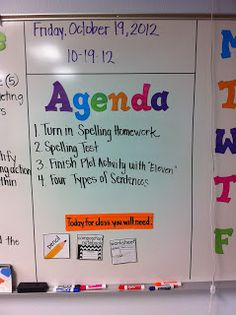 My 6th graders could STILL use this list of daily supplies!