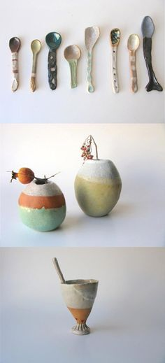 we love these pieces by shino takeda