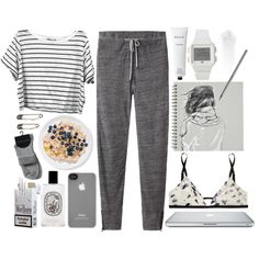 """i need a day off."" by cauchemar-exquis on Polyvore"