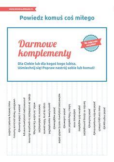 Darmowe komplementy - karteczki do wyrywania (wersja 2)