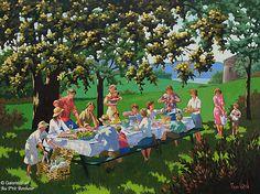 """Rémi Clark - """" Un dimanche sur les Plaines """" Art Gallery, Clark Art, Galerie D'art, Art Original, Oeuvre D'art, Les Oeuvres, Charlevoix, Bio, Voici"""