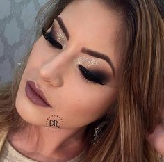 Makeup Esfumado na Diagonal Dany Rebecca Kiss Makeup, Makeup Art, Eye Makeup, Hair Makeup, Make Up Looks, Makeup Goals, Makeup Tips, Party Make-up, Party Ideas