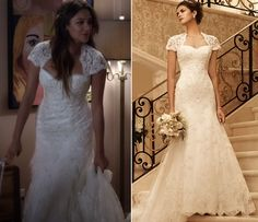 Wedding dress inspiration. Emily Fields pretty little liars