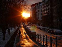 Winter sunset in Helsinki, Finland. Winter Sunset, Helsinki, Finland, Landscapes, Photography, Outdoor, Paisajes, Outdoors, Scenery