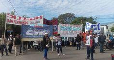 Manifestación de la Multisectorial Chaco                                                             www.chacoonline.com.ar
