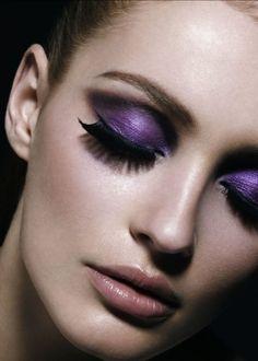 Purple eyeshadow - #makeup look